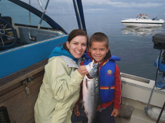 salmon fishing guides
