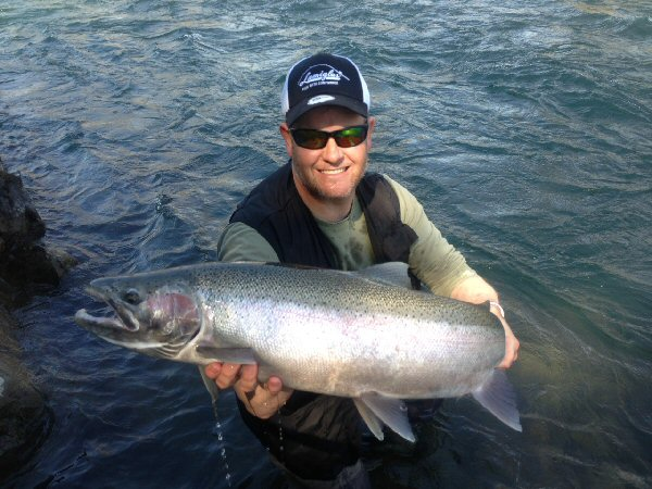 Salmon fishing BC